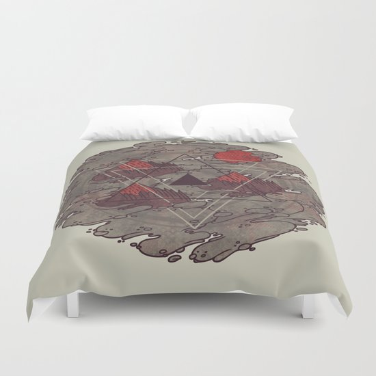 Amidst the Mist Duvet Cover