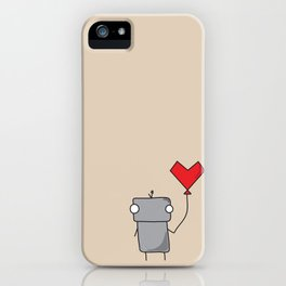 Robo Love iPhone Case