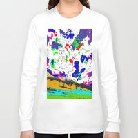 zodiac Long Sleeve T-shirts featuring Zodiac by lookiz