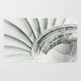 Sand stone spiral staircase 009 Rug