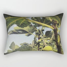 the smell of the fig tree Rectangular Pillow