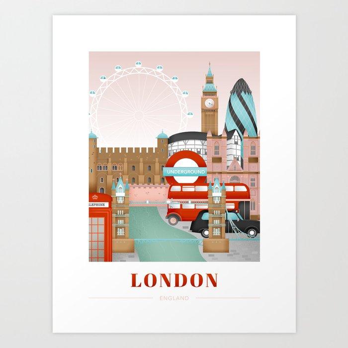 London, England Kunstdrucke