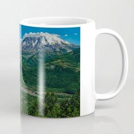 Landscape Mt. St. Helens in Summertime Coffee Mug