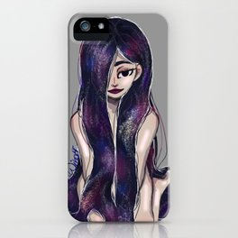 Galaxy Girl iPhone Case