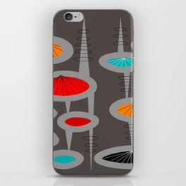 Atomic Space Age iPhone Skin