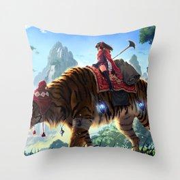 Karma Journey Throw Pillow
