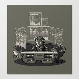 THE COMPOSER Canvas Print