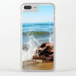 Lake Michigan (01) Clear iPhone Case