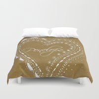 lace Duvet Covers featuring lace by L Step