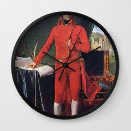 Jean-Auguste-Dominique Ingres - Bonaparte, First Consul Wall Clock