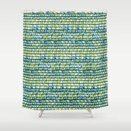 Garage shingles  Shower Curtain
