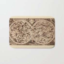 Constellation Map 1734 Bath Mat
