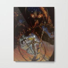 Echthelion of the Fountain and Gothmog Metal Print