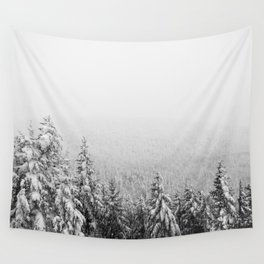 Winter vibes #evergreen #society6 Wall Tapestry