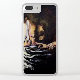 Doubting Thomas Clear iPhone Case