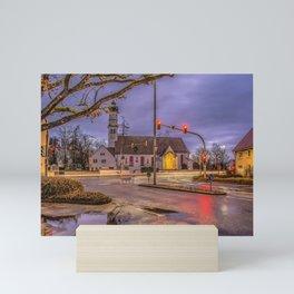 Baden-Wurttemberg : St.Leonhards chapel - Laupheim Mini Art Print