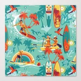 Hawaiian resort Canvas Print