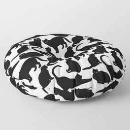 Black Cats Floor Pillow