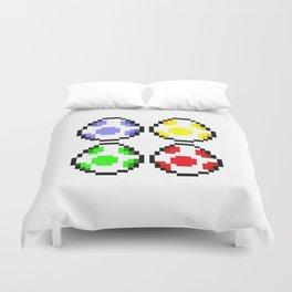 Minimalist Yoshi Eggs Duvet Cover