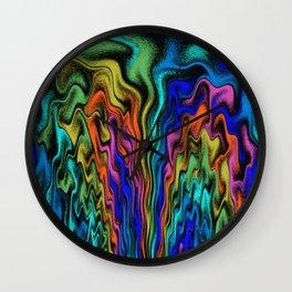Mystical Flames   Wall Clock