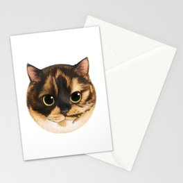 Round Cat - Lang Stationery Cards