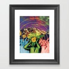 Universal Energy Framed Art Print
