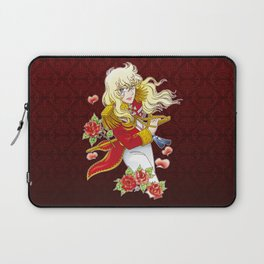 Oscar François de Jarjayes (Red edit.) Laptop Sleeve