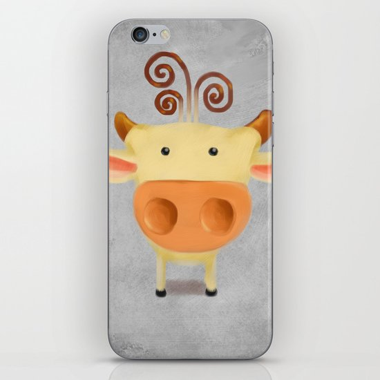 little cow  iPhone & iPod Skin