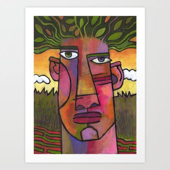 Forest Spirit 3 Art Print