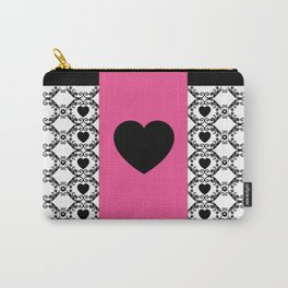 Amour French Heart Carry-All Pouch