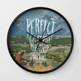 THE CHARIOT Wall Clock
