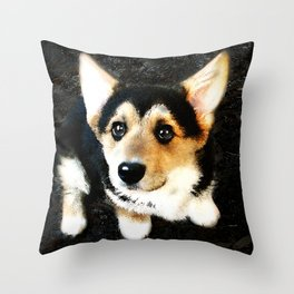 Please? Throw Pillow