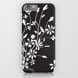 Dancing Floral iPhone Case