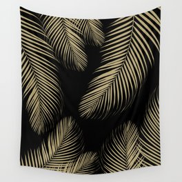 Palm Leaves - Gold Cali Vibes #4 #tropical #decor #art #society6 Wall Tapestry