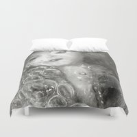 breathe Duvet Covers featuring BREATHE... by Jessica Yakamna