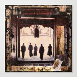AYUNG PURA, Beautiful Temple Canvas Print