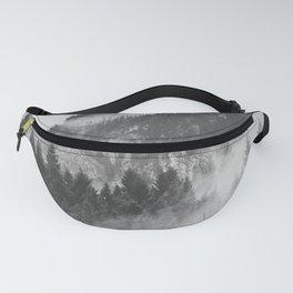 Vancouver Fog B&W Fanny Pack