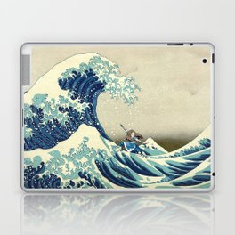 Katara Riding the Wave Laptop & iPad Skin