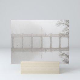 Waiting in the Fog Mini Art Print