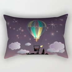 Balloon Aeronautics Night Rectangular Pillow
