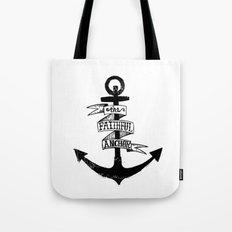 The Faithful Anchor Tote Bag