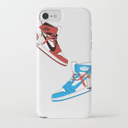 Off White Air x Jordan 1 Poster iPhone Case