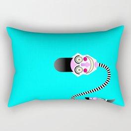 Two heads Rectangular Pillow