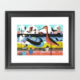 OBX Framed Art Print