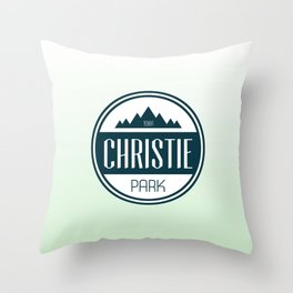 Christie Park Throw Pillow