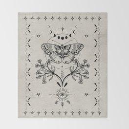Magical Moth Decke