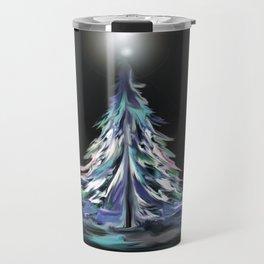 Winter Wonderland Tree Travel Mug