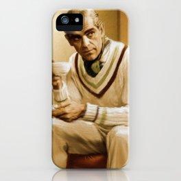 Boris Karloff iPhone Case