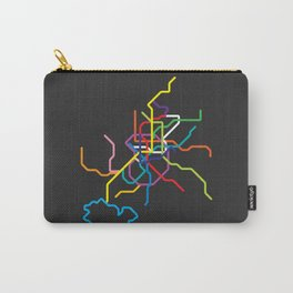 madrid metro map Carry-All Pouch