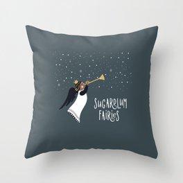 Sugarplum Fairies Throw Pillow